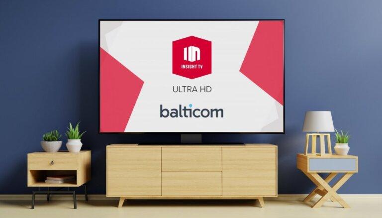 Telekomunikāciju operators BALTICOM pirmais Latvijā raidīs kanālus ULTRA HD kvalitātē