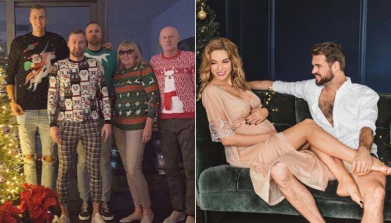 Raibi foto: Kā slaveni latvieši Ziemassvētkus svinēja