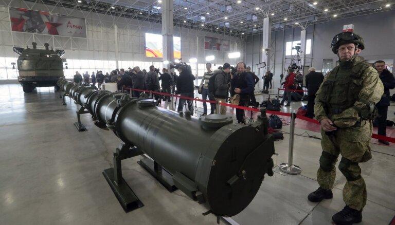 Nav pazīmju, ka Krievija gatavotos ievērot INFT, norāda Stoltenbergs