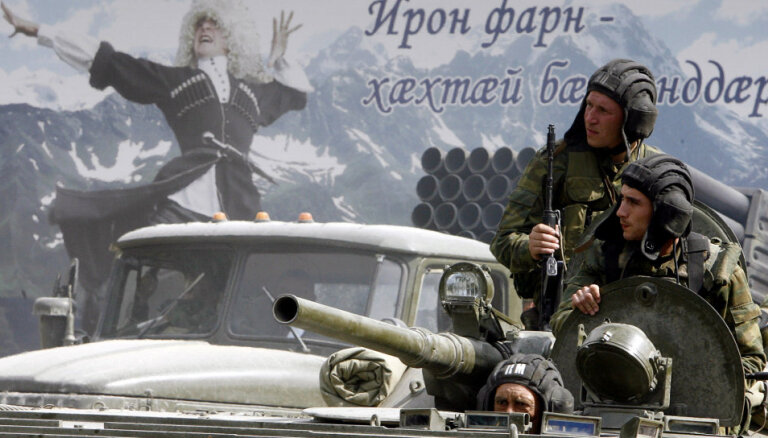 Krievijas-Gruzijas karam 10: Kā sākās bruņotais konflikts