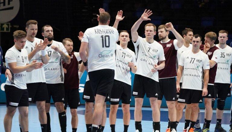 Latvijas handbola izlase noskaidrojusi pretiniekus EČ kvalifikācijā