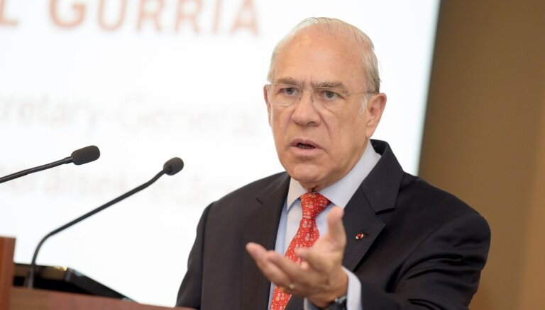 OECD ģenerālsekretārs: Latvijai vajadzīgi spēcīgāki cenu signāli virzībai uz zaļāku ekonomiku