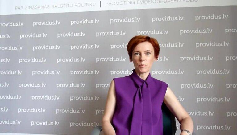 Marija Golubeva par bēgļu uzņemšanu Latvijā