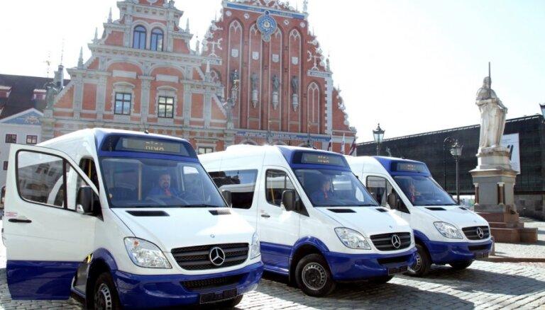 Новые микроавтобусы: уже на 9 из 35 рижских маршрутов