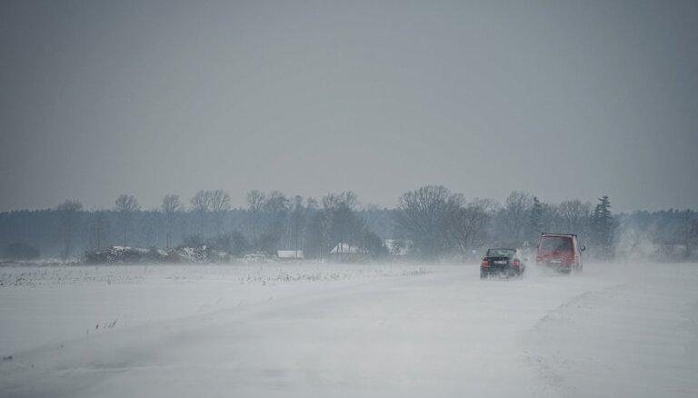 Спасатели предупреждают о сильной метели и снежных заносах