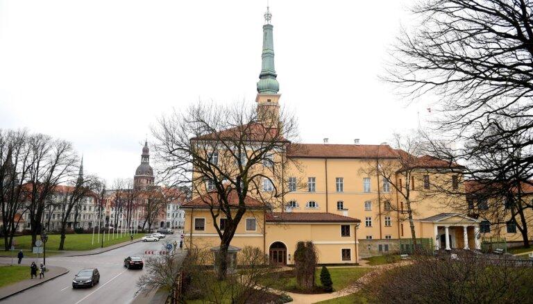 Rīgas pils restaurācijas un pārbūves darbiem VNĪ pārdala 2,57 miljonus eiro