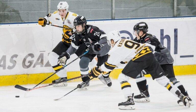 HK 'Rīga' hokejisti piedzīvo astoto zaudējumu pēc kārtas MHL čempionātā