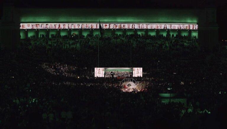 Video: Dziesmu svētku Sadziedāšanās nakts kopā ar virtuālo kopkori