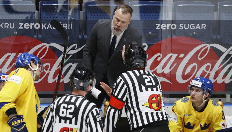 Шведский тренер Гренборг: с Латвией тяжело — наши энхаэловцы не привыкли к такой игре