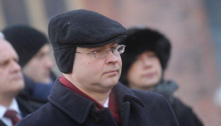 Домбровскис обсудил с президентом ЕП интересы Латвии в бюджете ЕС