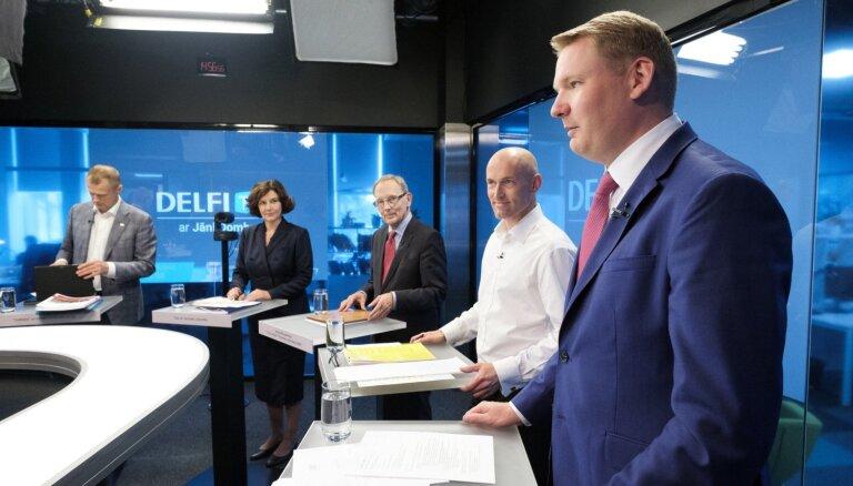 'Par ko balsot?' Tautsaimniecības debates. Pilns raidījuma teksts