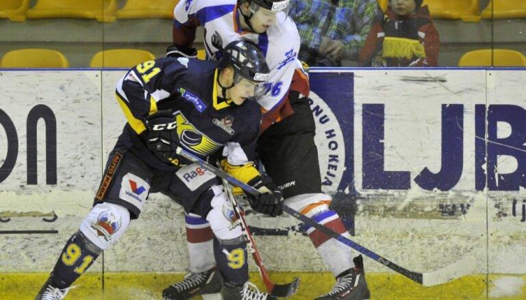 'Kurbads' hokejisti pieveic virslīgas līderi 'Zemgale/LLU'