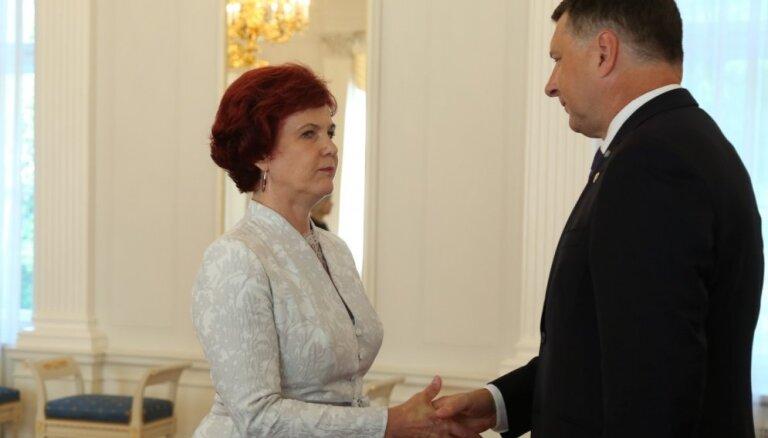 Āboltiņa Latvijas un Itālijas attiecību veicināšanai sola veltīt visas savas zināšanas un pieredzi