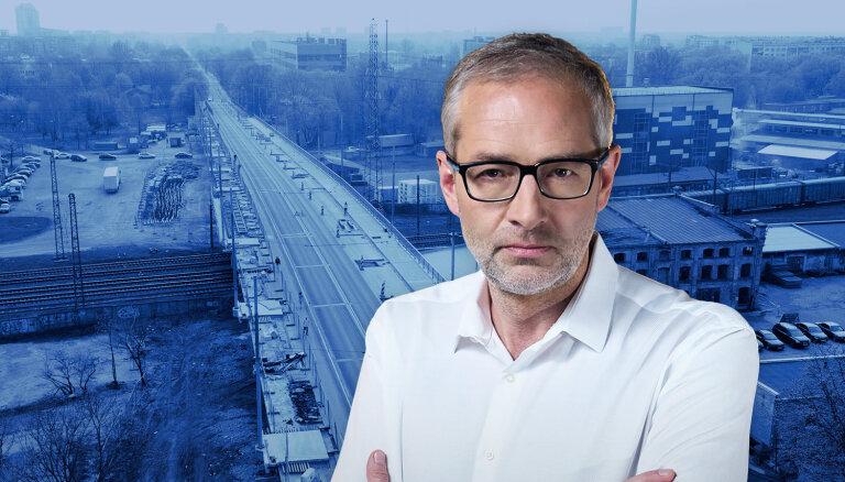 Что будет с Деглавским мостом? В 18:00 на Delfi TV отвечают Кюзис, Якринс и другие
