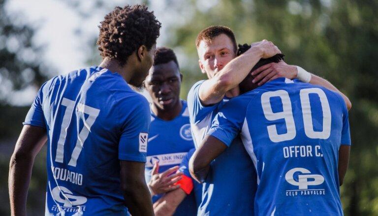 RFS futbolisti droši uzvar tukumniekus un turpina pakaļdzīšanos 'Riga' komandai