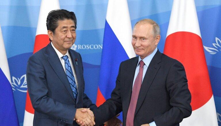 Путин предложил Японии заключить мирный договор, но в Токио ответили отказом