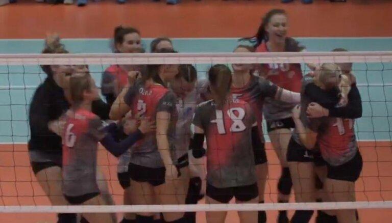 RVS volejbolistes kļūst par Latvijas čempionēm