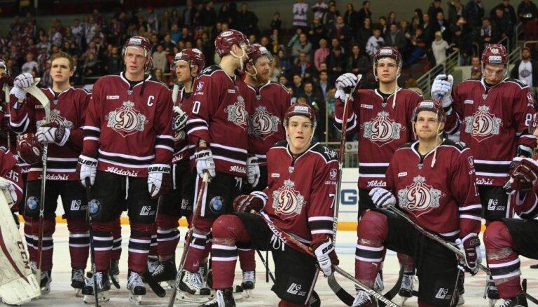 Rīgas 'Dinamo' KHL reitingā ierindots 16. vietā