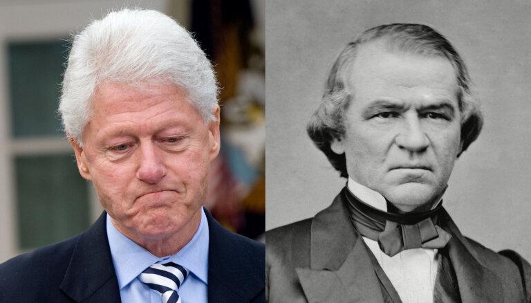 Atskats vēsturē: ASV prezidenti, kurus neizdevās gāzt impīčmenta ceļā