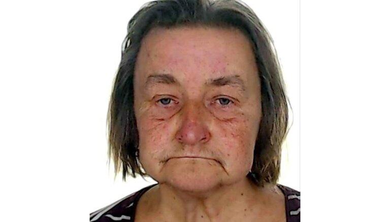 Lūdz palīdzību no mājām Vecpiragovā izgājušas sievietes meklēšanā