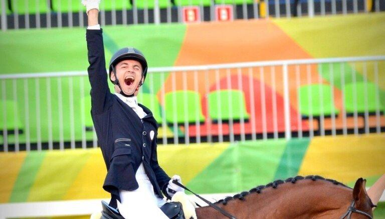 Snikus ieņem piekto vietu Riodežaneiro paralimpiskajās spēlēs brīvā stila sacensībās
