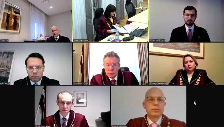 Video: Satversmes tiesa sāk vērtēt novadu reformu