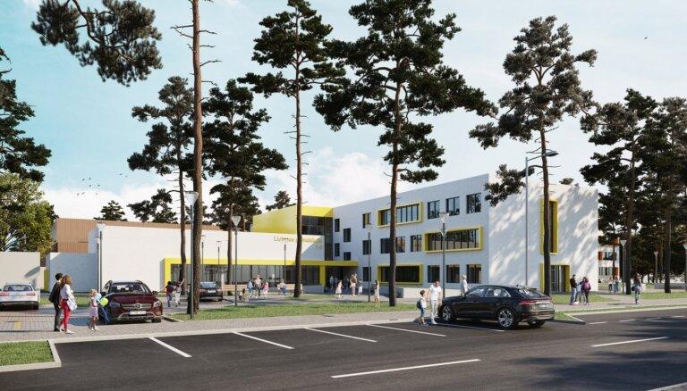 Skolu reorganizācijas aizsegā Jūrmalā plāno daudzmiljonu būvniecības projektu, satraukti vecāki