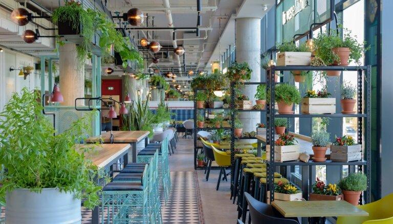 Foto: 'Lido' investējis vairāk nekā divus miljonus eiro restorāna izveidē 'Alfā'
