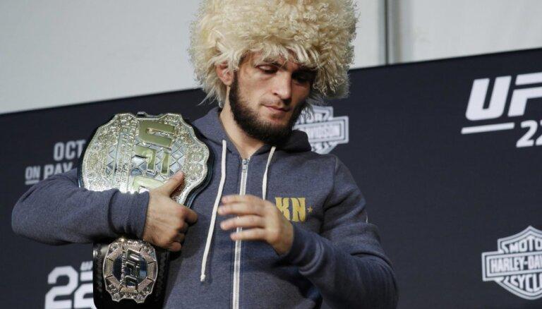 Хабиб Нурмагомедов намекнул на возвращение в UFC за 100 млн долларов