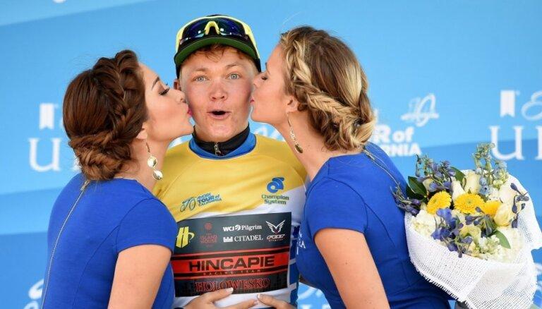 Латвийские велогонщики после финиша: сделали все, что могли