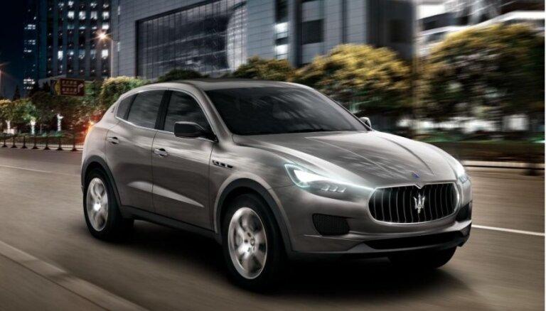 'Maserati Levante' apvidnieks debitēs nākamgad