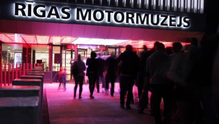 Muzeju nakti Rīgas Motormuzejā pavadīs tauru skaņas