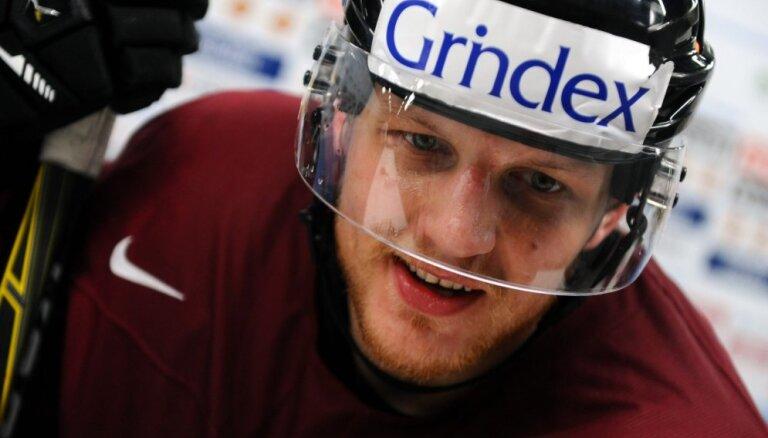 Latvijas hokejisti rezultatīvi Čehijā un Vācijā