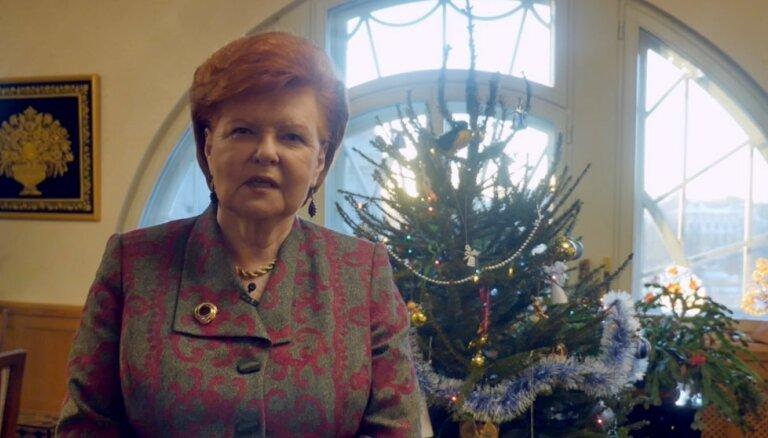 Vīķes-Freibergas apsveikums Jaunajā gadā: latviešiem jāapzinās sava vērtība