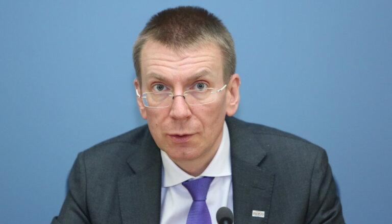 Rinkēvičs: Krievijai jāpārtrauc nepamatota vardarbība pret nevainīgiem cilvēkiem un jāatbrīvo aizturētie