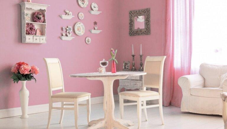 Rozā ne tikai bērnistabā – gaumīgi piemēri, kur vēl romantiskā krāsa iederas