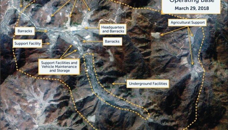 Atklāj 13 slepenas Ziemeļkorejas raķešu ražotnes