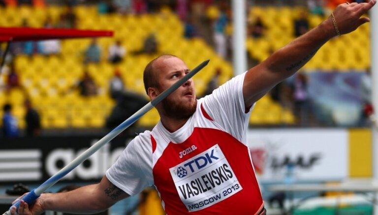 Olimpiskais vicečempions Vasiļevskis plāno atkal startēt sacensībās