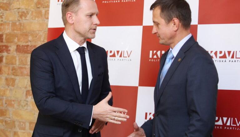 ZZS pārsteigusi informācija par Gobzema valdības veidošanas sarunām bez viņu iesaistes
