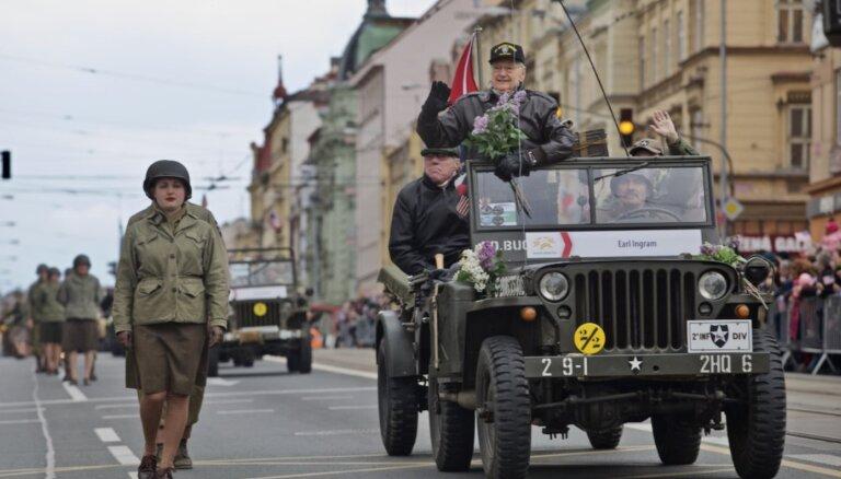 Amerikāņiem pateicīgākā Čehijas pilsēta: Pilzene ik gadu svin pilsētas atbrīvošanu no nacistiem