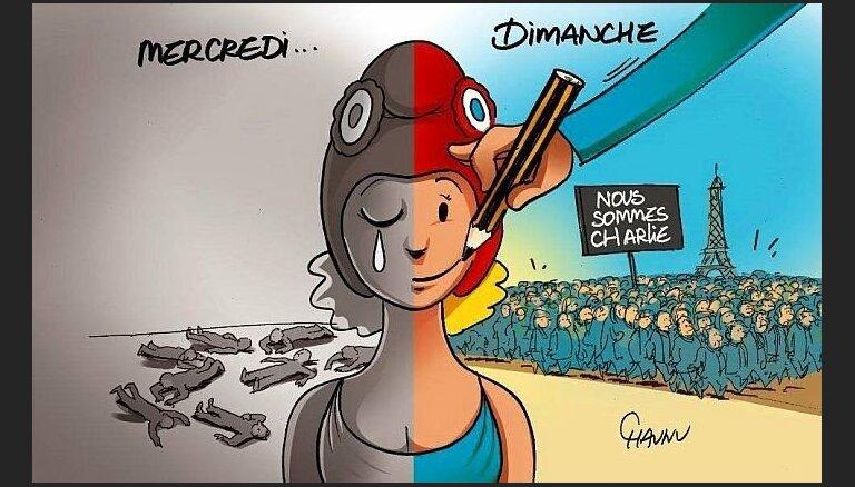 Franču žurnālists Danī Robērs stāstīs par karikatūras tradīciju Francijas kultūrā