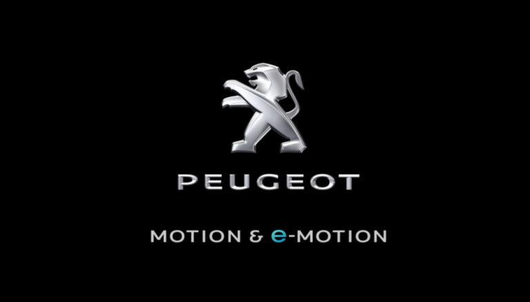Līdz ar elektroauto ražošanu 'Peugeot' maina saukli