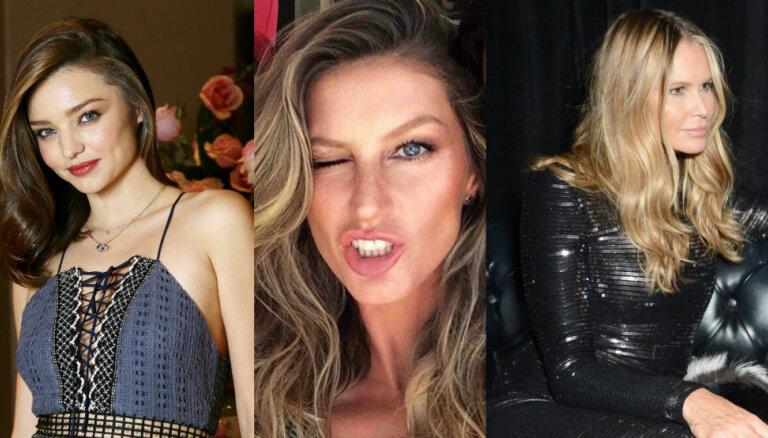 Kā sevi formā uztur pasaules skaistākās sievietes? Iedvesmojies no astoņām supermodelēm