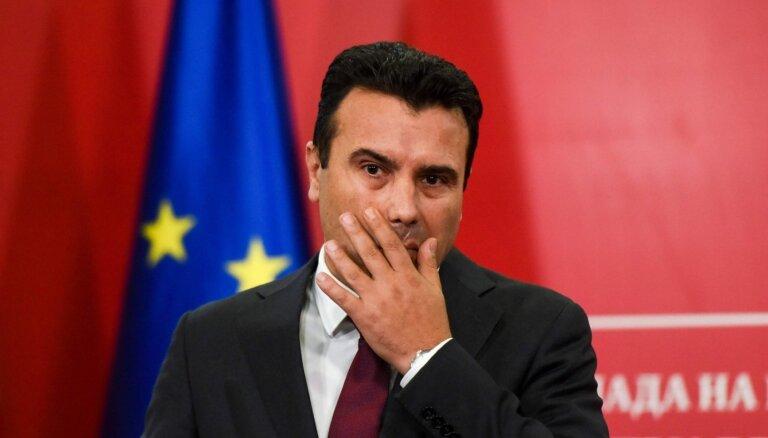 ES atteikums: Ziemeļmaķedonijā aicina sarīkot pirmstermiņa vēlēšanas