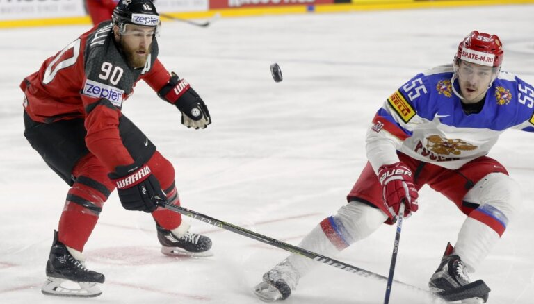 Сборная Канады отыгралась с 0:2 и одержала волевую победу над командой России