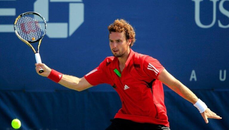 Gulbis ATP rangā zaudējis četras pozīcijas; Juškam kāpums par 65 vietām