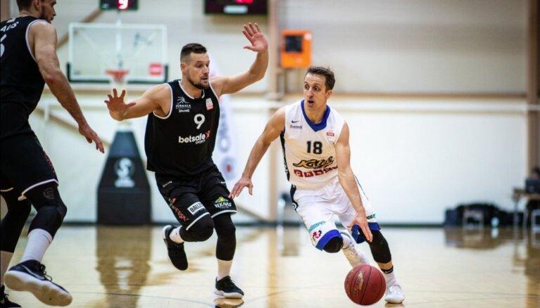 'Betsafe/Jūrmala' nenotur pārsvaru un 'OlyBet' līgas mačā piekāpjas Igaunijas čempioniem 'Kalev/Cramo'