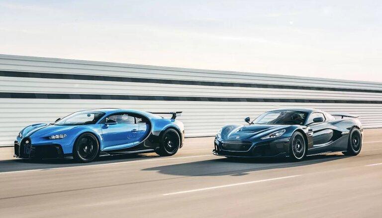 Horvātijas elektroauto ražotājs 'Rimac' iegūs 'Bugatti' kontrolējošo akciju daļu