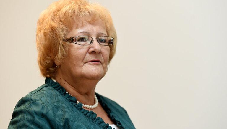 Par Pensionāru federācijas vadītāju ievēl bijušo Saeimas deputāti Barču