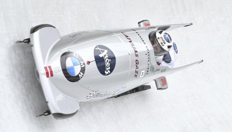Экипаж Мелбардиса доехал в Уистлере до первой в сезоне медали